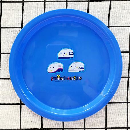 【震撼精品百貨】Shin Kan Sen 新幹線~三麗鷗新幹線兒童塑膠餐盤-藍#04855