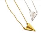 【找到自己】韓國 925純銀 訂製 紙飛機 飛機項鍊 純銀 手工訂製