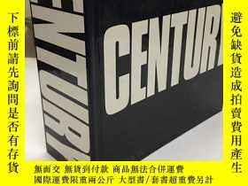 二手書博民逛書店CENTURY:One罕見Hundred Years of Hu