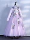 兒童禮服 連衣裙春2021新款洋氣公主裙冬小女孩兒童禮服裙子冬裝加絨【快速出貨八折鉅惠】