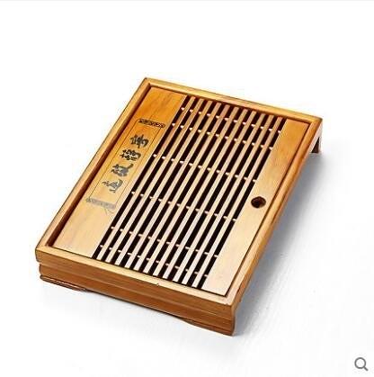 實木茶盤功夫茶具配件抽屜式茶台茶海儲水式