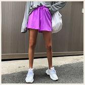 ✦Styleon✦正韓。鄰家女孩螢光伸縮腰抽繩短褲。韓國連線。韓國空運。0710。