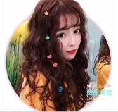 長假髮 女長髮自然全頭套式長捲髮羊毛泡面玉米燙網紅圓臉新式髮套 3色