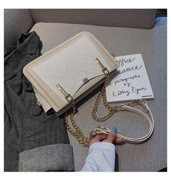托特包-2021新款2021托特女包韓版潮時尚百搭手提包單肩斜揹包包女大容量