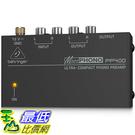 [美國直購] BEHRINGER MICROPHONO PP400 唱盤前級擴大機