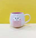 【震撼精品百貨】The Aristocats Marie 迪士尼瑪莉貓~瑪莉貓造型陶瓷馬克杯#24670