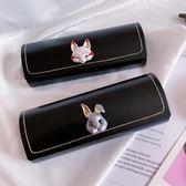 全館免運 簡約可愛近視眼鏡盒便攜個性框架眼鏡盒