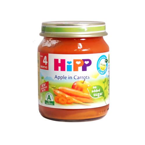 HiPP喜寶 有 機胡蘿蔔蘋果泥