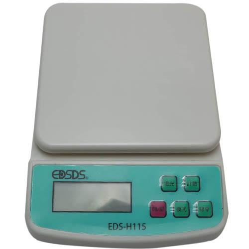 藍色背光電子廚房秤-10.1kg~1g