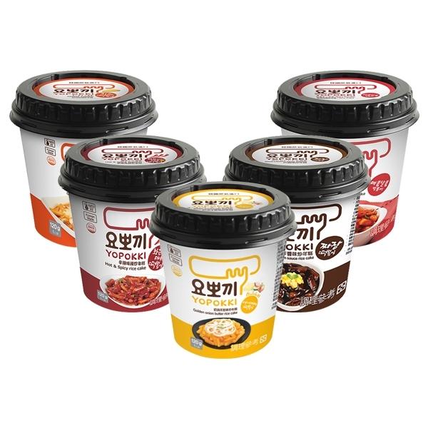 韓國 Yopokki 辣炒年糕即食杯(1杯裝) 款式可選【小三美日】$79