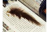 仙子的羽翼耳環 羽毛 珍珠 水鑽 耳針 銀針