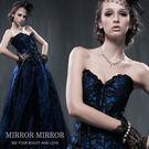 馬甲 巴黎奢華神秘藍塑身馬甲-束身、表演服_蜜桃洋房