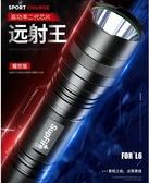 手電筒神火L6強光手電筒可充電led燈戶外超亮遠射官方旗艦家用小便攜燈 HOME 新品