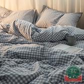 【1.2m】全棉純棉床上三件套水洗棉床上床單被套【福喜行】