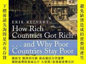 二手書博民逛書店How罕見Rich Countries Got Rich And Why Poor Countries Stay