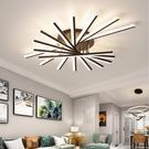年新款客廳燈 簡約現代大氣led吸頂燈創意北歐臥室燈燈具套餐YYJ 【快速出貨】