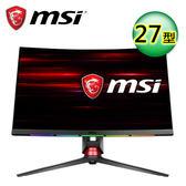 MSI 微星 Optix MPG27CQ 27型 1800R WQHD 曲面電競螢幕【加贈多功能露營燈】
