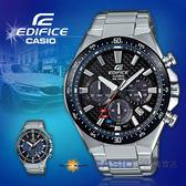 CASIO 卡西歐 手錶專賣店   EDFICE EQS-800CDB-1A 三眼計時賽車男錶 不鏽鋼錶帶 黑色錶面 EQS-800CDB