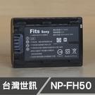 SONY NP-FH50 台灣世訊 日製電芯 副廠鋰電池 FH50 FH50 (一年保固)