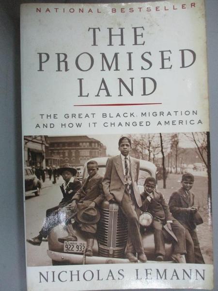 【書寶二手書T6/社會_KEF】The Promised Land: The Great Black Migration
