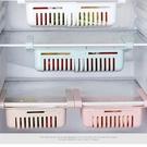 抽屜式籃子家用可拉伸收納架隔層冰箱整理架夾層分層可調保鮮內部 米娜小鋪