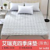 折疊床墊1.5/1.8m榻榻米床褥雙人單人學生宿舍1.2墊被睡墊 QQ10608『bad boy時尚』