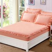 純棉床笠單件全棉席夢思保護套防滑床罩1.5米薄棕墊床套 超值價