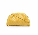 ■專櫃88折■ 全新真品■Bottega Veneta 585852 小款編織款雲朵包 黃蝴蝶