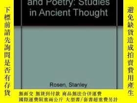 二手書博民逛書店The罕見Quarrel Between Philosophy And Poetry-哲學與詩歌之爭Y4366