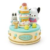 〔小禮堂〕帕恰狗 造型陶瓷拿蓋收納盒《黃》置物盒.飾品盒.生日蛋糕系列 4901610-21886