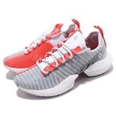 Reebok 慢跑鞋 Sole Fury SE 灰 紅 全新鞋款 襪套式 女鞋 透氣網布 休閒鞋 運動鞋【PUMP306】 DV6922