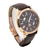 ORIENT 東方錶 SET0T003T 日相 月相 機械錶 男錶 玫瑰金/42.5mm