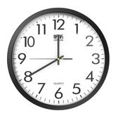 掛鐘 鐘表掛鐘客廳圓形創意時鐘掛表簡約現代家用家庭靜音電子石英鐘 莎拉嘿呦