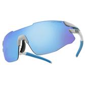 ZIV 運動太陽眼鏡 124-TB112018 (亮白框-灰片藍白多層膜) 台灣製 附內視鏡 TR # 金橘眼鏡
