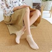 襪女短襪蕾絲花邊襪子