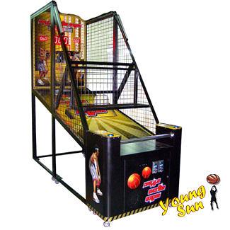 夢幻射手黃金版 投籃機 籃球機 飛絡力 投籃球機 運動 籃球 大型電玩買賣 園遊會
