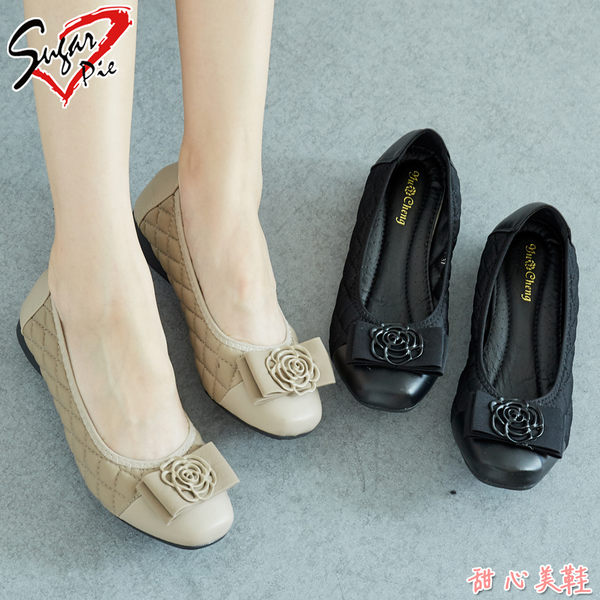 Sugar pie-韓版典雅玫瑰包鞋 #6288-1488