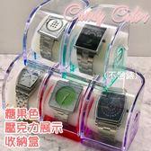 娃娃機 錶盒 手錶展示盒 壓克力盒  展示架 附海綿 ☆匠子工坊☆【UZ0200】顏色隨機