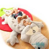 禮物鱷魚毛絨玩具公仔睡覺抱枕玩偶生日禮物女【一條街】
