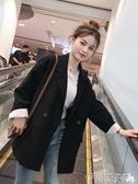 西裝外套2020新款韓版春秋西裝外套女潮休閒網紅小西服套裝英倫風春裝上衣 伊蒂斯