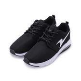 ARNOR 綁帶氣墊慢跑鞋 黑白 ARWR72170 女鞋 鞋全家福