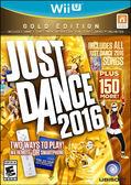WiiU Just Dance 2016 (Gold Edition) 舞力全開 2016 黃金版(美版代購)