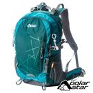 【PolarStar】透氣網架背包30L『藍』P18713 露營.戶外.旅遊.多隔間.登山背包.後背包.肩背包.行李包