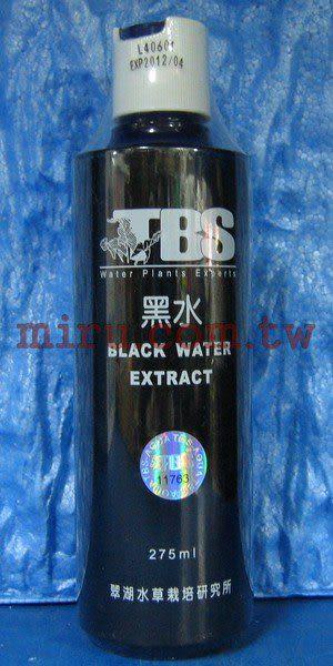 【西高地水族坊】翠湖TBS 自然水再生劑(黑水)250ml