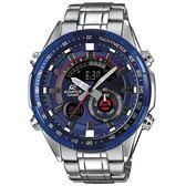 【僾瑪精品】CASIO 卡西歐 EDIFICE 立體多層次不鏽鋼賽車腕錶-藍/ERA-600RR-2A