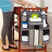 嬰兒床收納袋掛袋床頭收納嬰兒置物架童床尿布掛袋
