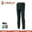 【Wildland 荒野 男 RE彈性合身保暖長褲《灰綠》】0A32392-05/保暖機能褲/工作褲/爬山健行戶外休閒褲