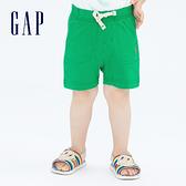 Gap嬰兒 布萊納系列 柔軟運動休閒褲 729139-綠色