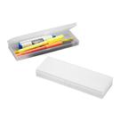 【奇奇文具】雙鶖 PA-1188 托斯卡爾 PP筆盒 透明白