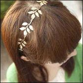 現貨+快速★橄欖枝樹葉裝飾髮帶★ifairies【33612】